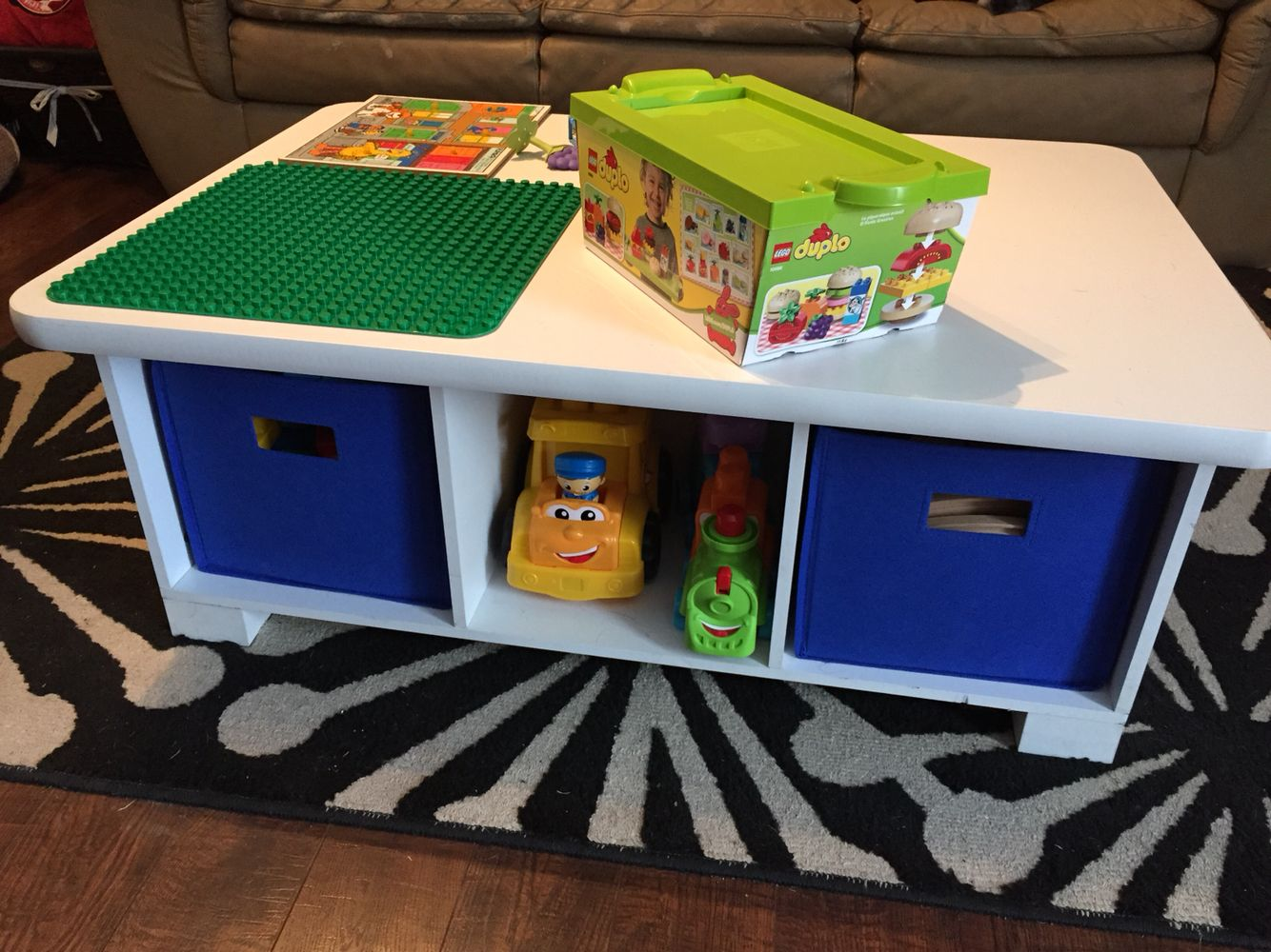 DIY MegaBloks Activity Table. Works With Lego Duplo Blocks Too! Closetmaid  Activity Table Target