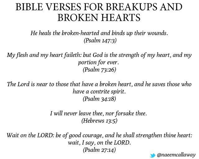 The broken heart bible study