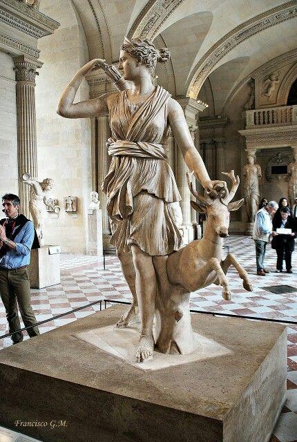 Diana, a Caçadora - Museu do Louvre- Paris