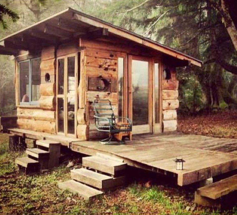 Mance Cave Mans - Kleine Huizen Container Woningen