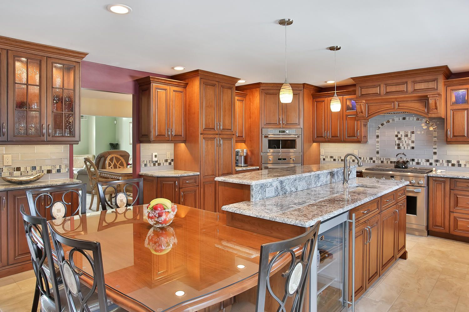 Stunning Cherry Kitchen Brick New Jerseydesign Line Kitchens Captivating Design Line Kitchens 2018