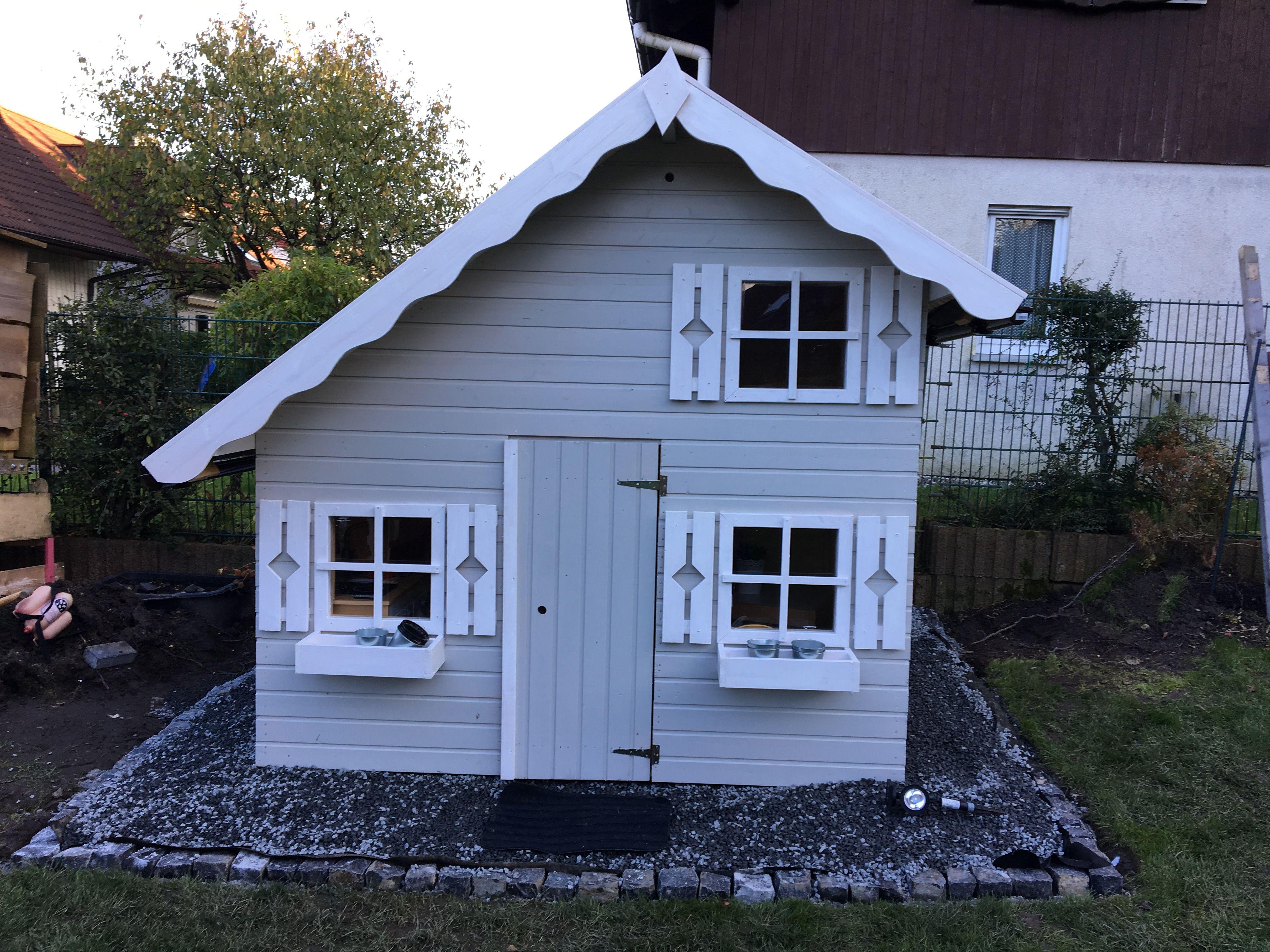 Spielhaus Tom Fast Fertig Spielhaus Tom Spielhaus Spielhaus Garten