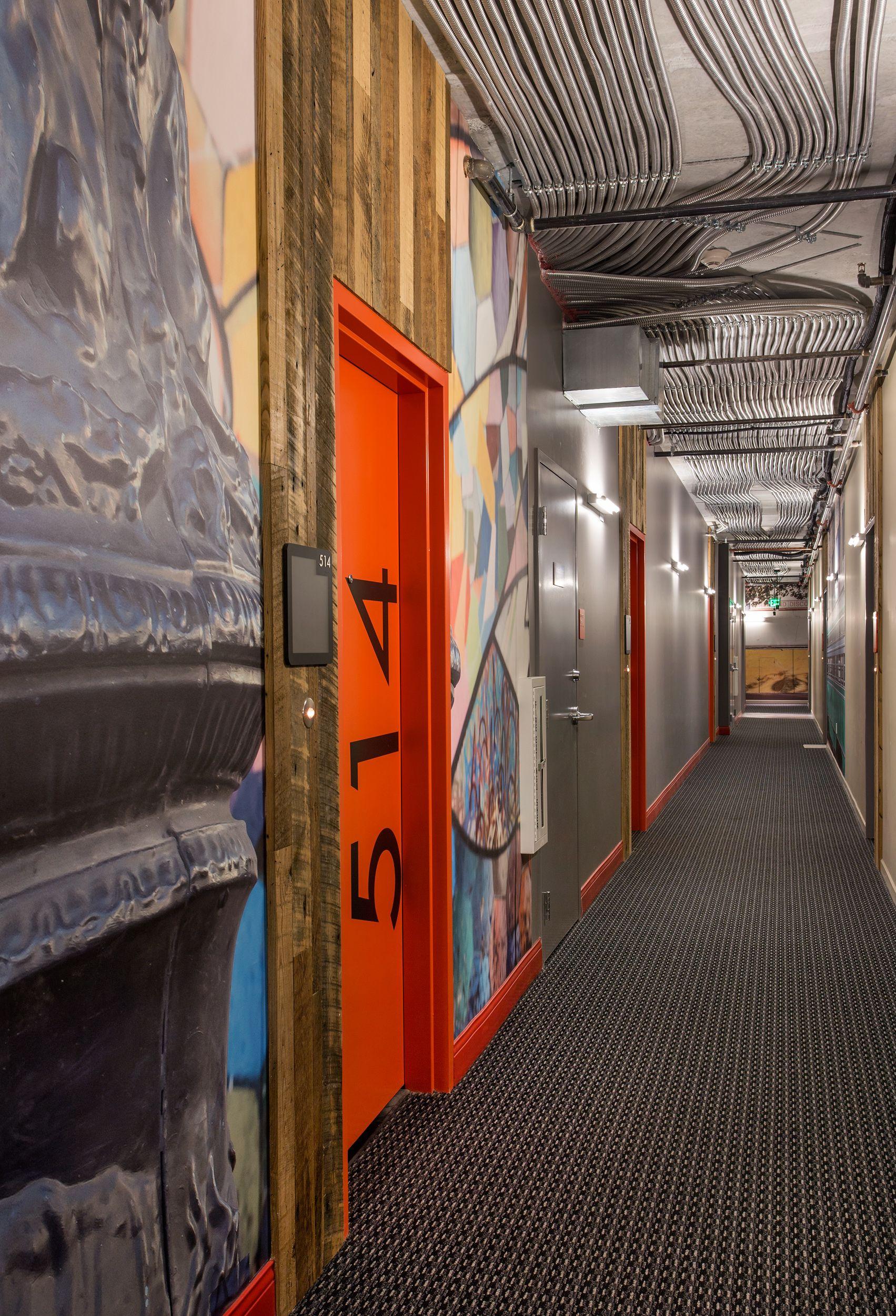 Degen & Degen | Multi-family | Corridor design, Apartment ...