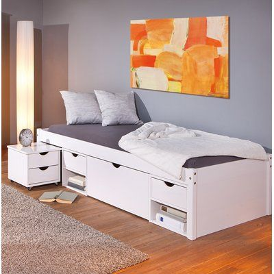 Best Klara Single Frame Bed With Drawers In 2020 Bed Frame 640 x 480