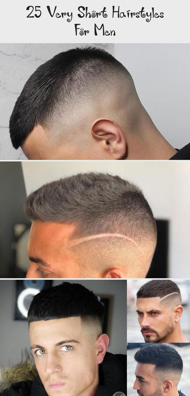 25 Very Short Hairstyles For Men Pinokyo Hairstyles Men Pinokyo Short Very Short Hair Mens Hairstyles Short Mens Hairstyles