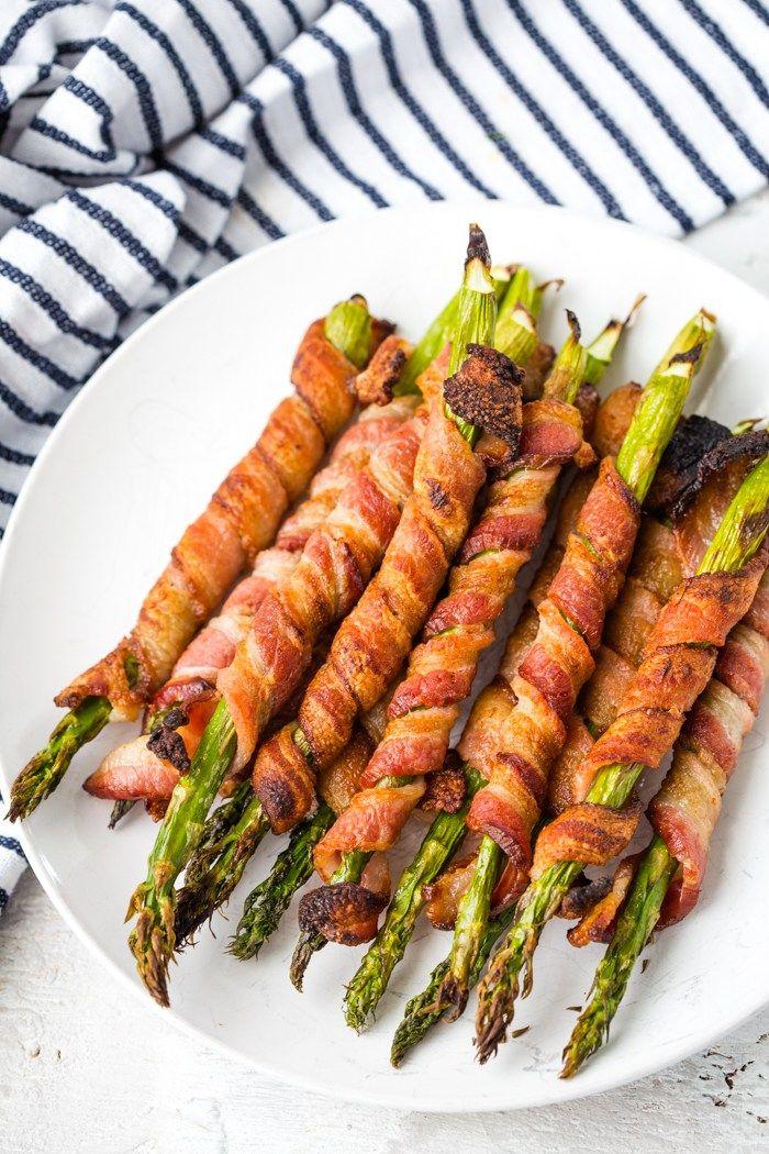 Low Carb Snacks Keto Diet Snacks Asparagus Recipe Bacon
