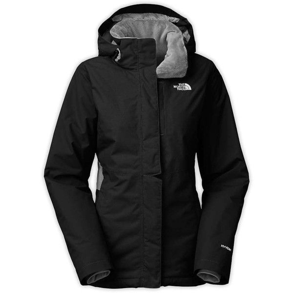 THE NORTH FACE W Inlux Chaqueta Impermeable, Mujer, Black