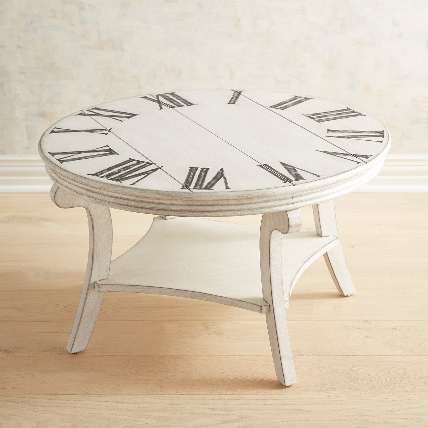 When The Time Comes For A New Coffee Table Consider Our Clock