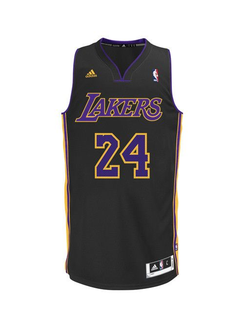 e9b4db469d5 Los Angeles Lakers Kobe Bryant Hollywood Nights Swingman Jersey – Lakers  Store