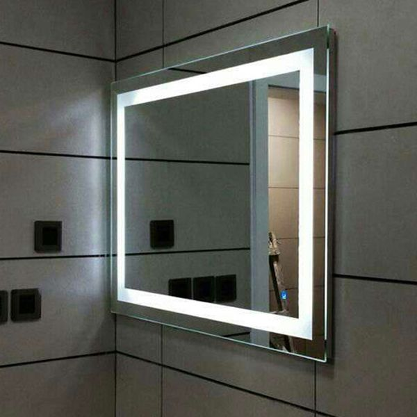 Star Hotel Led Iluminado Luz Moldura De Espelho Bathroom