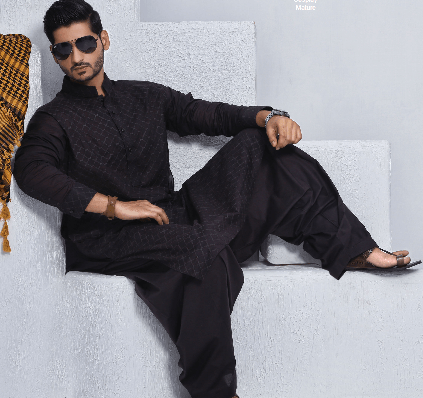 Men Kurta Collection 2016 By Grace Fabrics