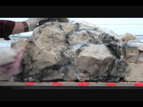 Kunstfelsen selber bauen - Videoanleitungen - Topteich-Info
