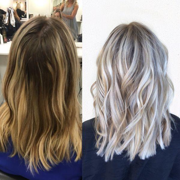 Coloration 20 Nuances De Gris Qui Donnent Envie De Sauter Le Pas Coiffures Cheveux Blonds Teinture Cheveux Hacks Cheveux