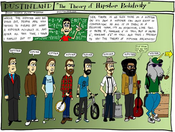 hipster relativity...