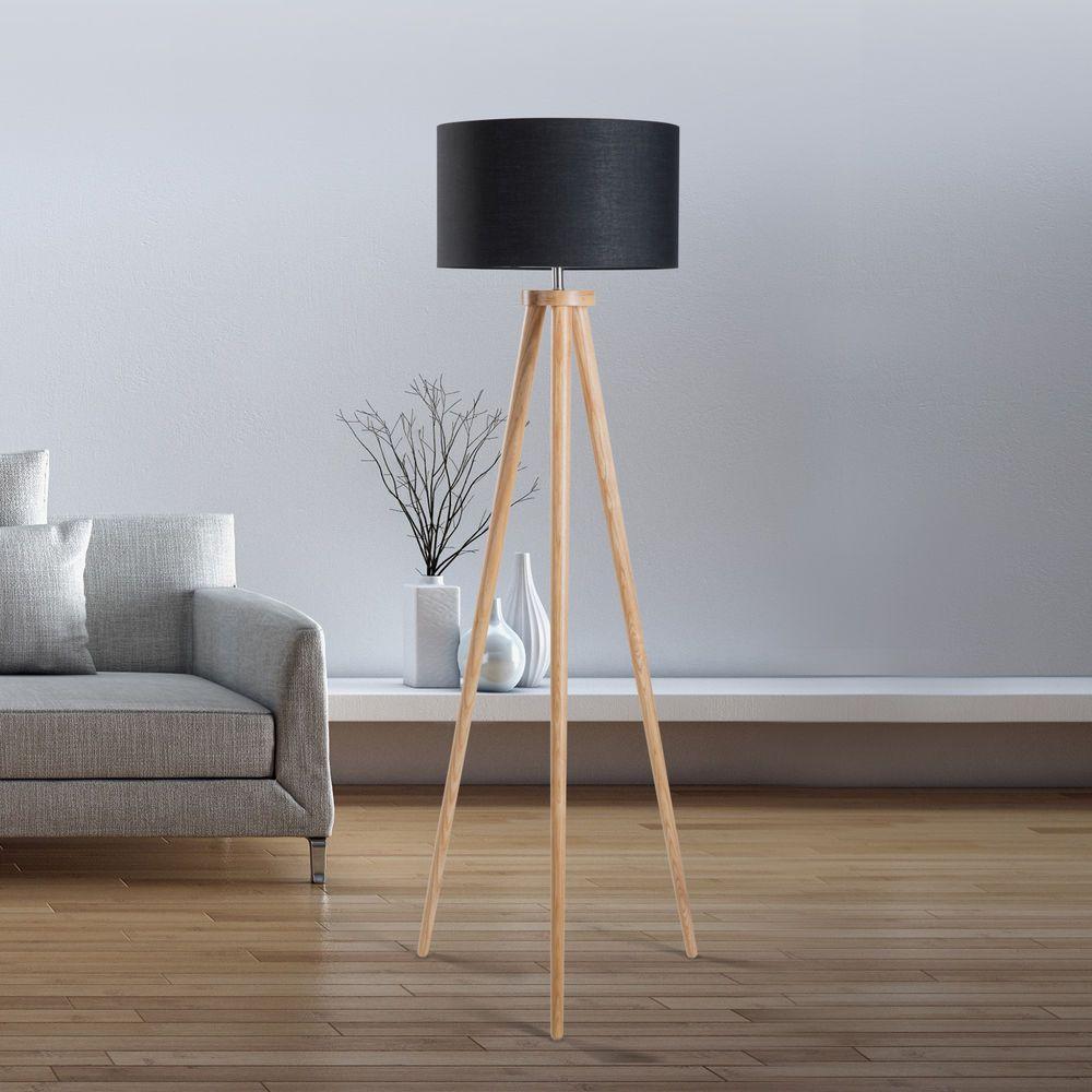 standleuchte schwarz leuchte stehlampe standlampe leselampe beleuchtung sch ne lampen. Black Bedroom Furniture Sets. Home Design Ideas