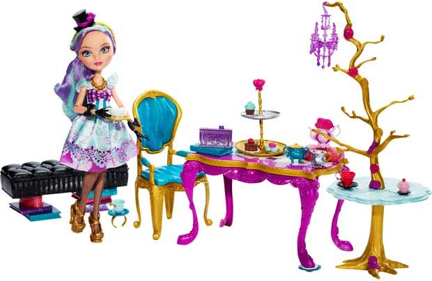 Ever After High Madeline Hatter Hat-Tastic Party Replacement Dress Blue Purple