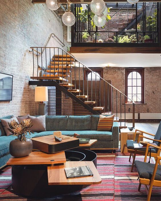 A new space but old style and feel? Throw it way back! See more at ...