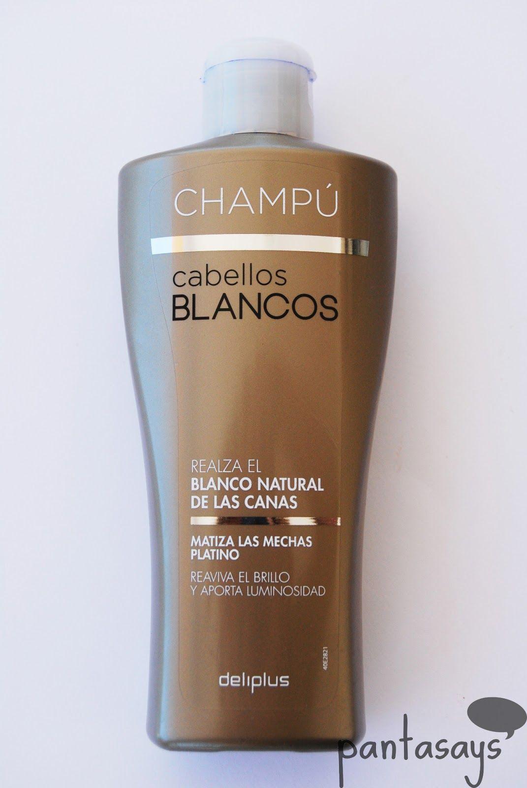 Champu Pelo Blancos Mercadona Para Matizar El Pelo Amarillo Ciao