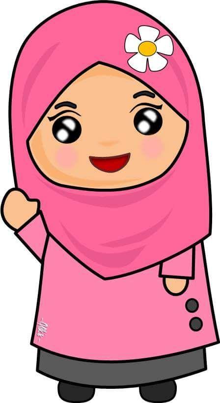 980+ Gambar Kartun Muslim Dari Kain Flanel HD Terbaik