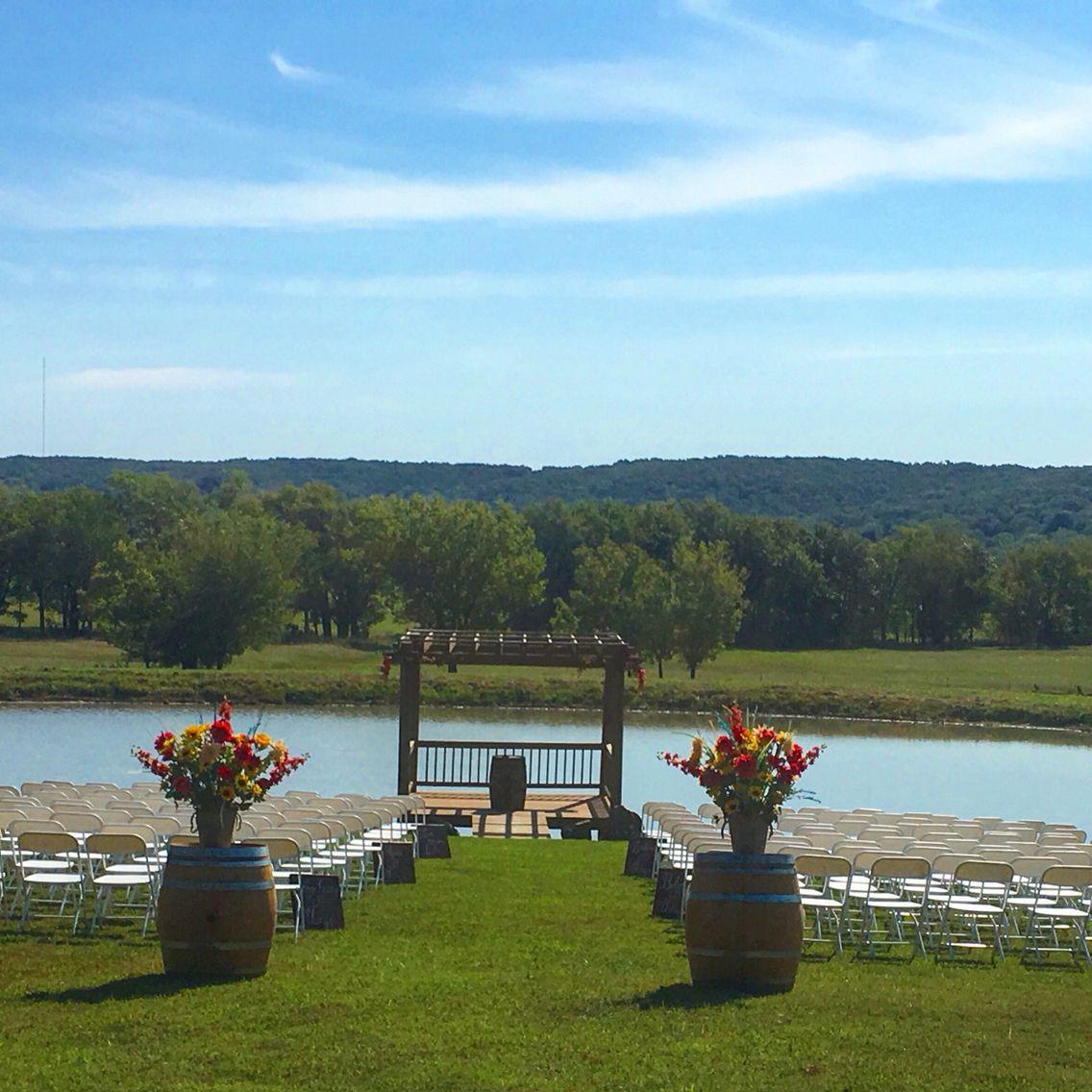 Pond Garden Wedding