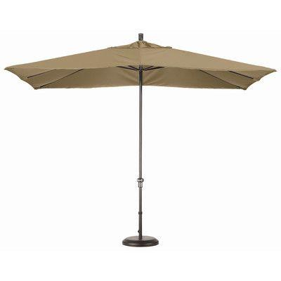 California Umbrella 8' x 11' Rectangle Market Umbrella Fabric: Sunbrella