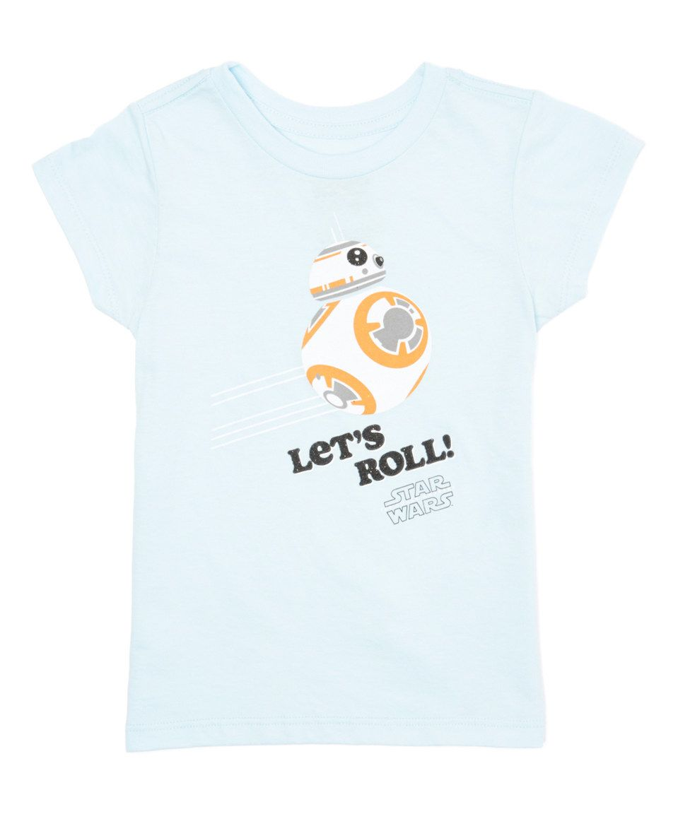 Mint 'Let's Roll' Star Wars Tee - Kids by Life's Bargains #zulily #zulilyfinds