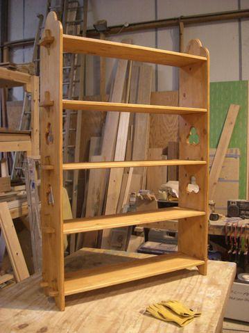 Steckregal mittelalter  Vitus shelves, finish applied, for e-mail | Re-enactor's Camp ...