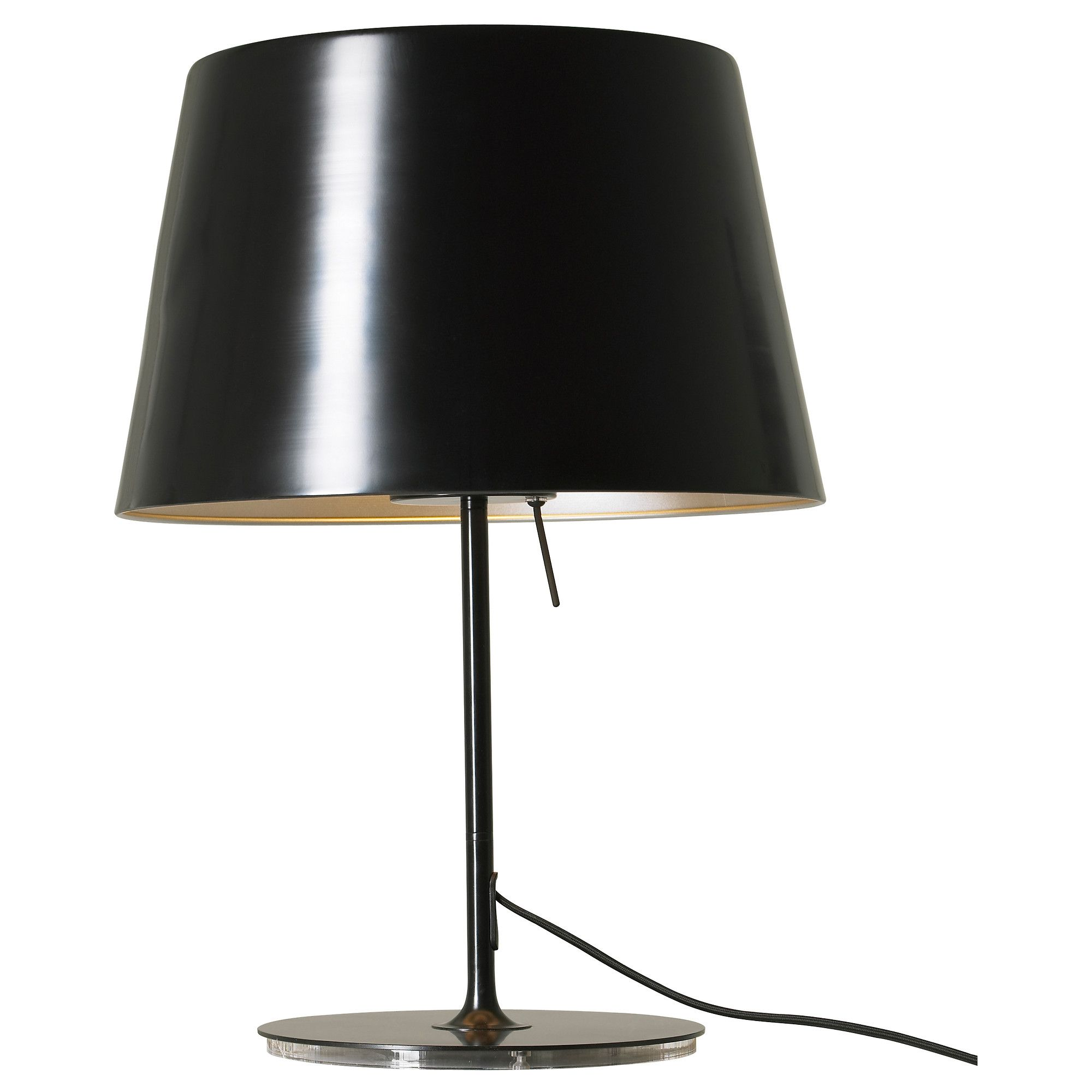 Ikea Us Furniture And Home Furnishings Table Lamp Table Lamp Lighting Black Table Lamps