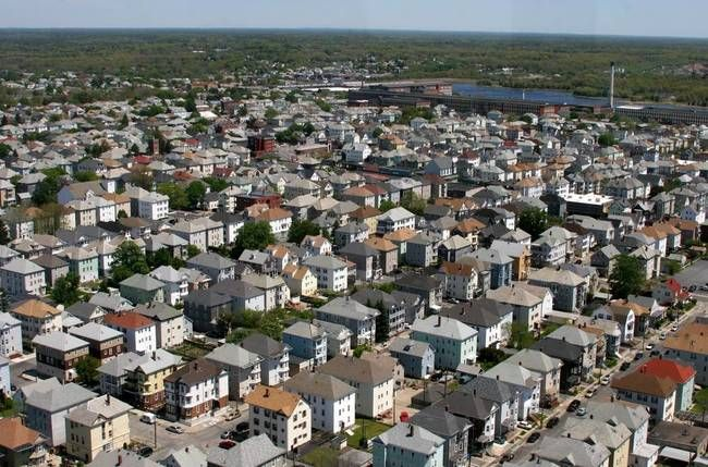 City Aerial New Bedford Img By George Riethof New Bedford Aerial Aerial View