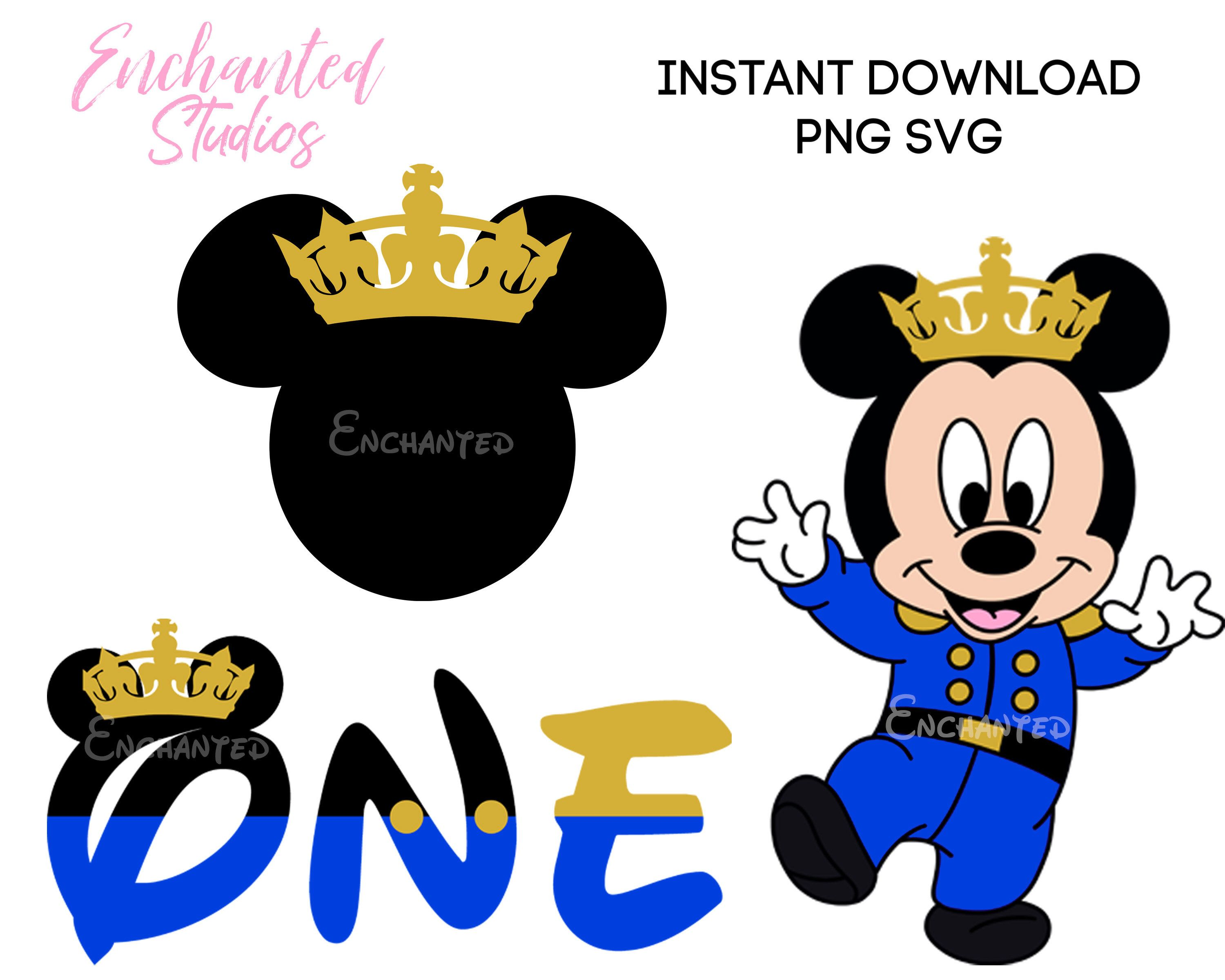 Baby Prince Mickey Mouse Clipart Svg Png Clip Art Files Mickey