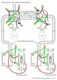 Image Result For Wiring A Light Switch To Multiple Lights And Plug