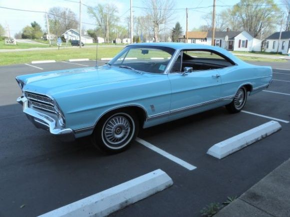 Original Paint 1967 Ford Galaxie 500 Fastback With Images Ford