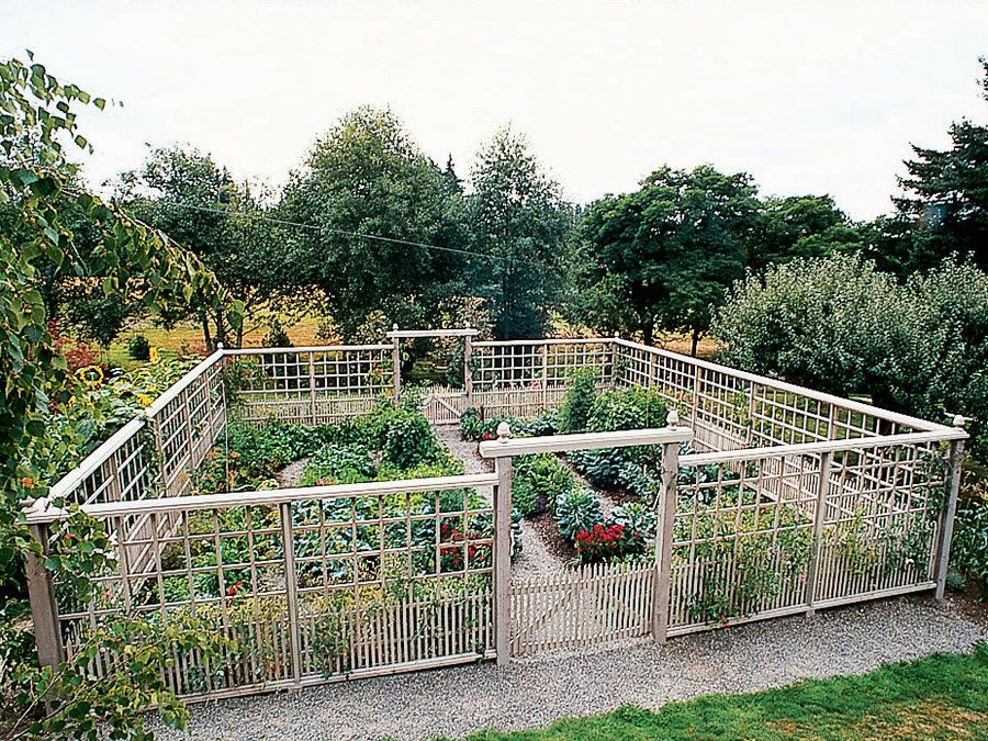 10 garden fence ideas that truly creative inspiring and for Vegetable garden fence ideas rabbits