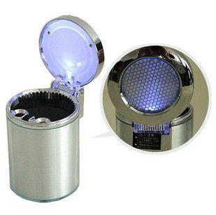 Car ashtray led lighting car outlet eye-lantern belt car cup holder ashtray car ashtray $6.54