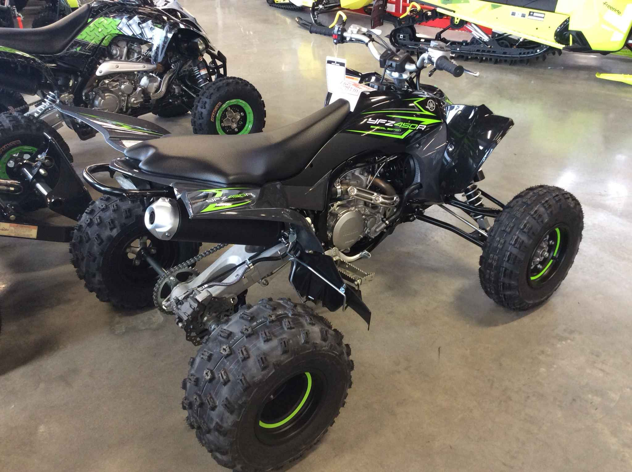 New 2017 Yamaha YFZ450R SPECIAL EDI ATVs For Sale in New