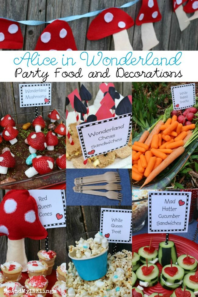 Alice In Wonderland Party Food Ideas Alice In Wonderland Tea Party Food Alice In Wonderland Tea Party Birthday Alice In Wonderland Party