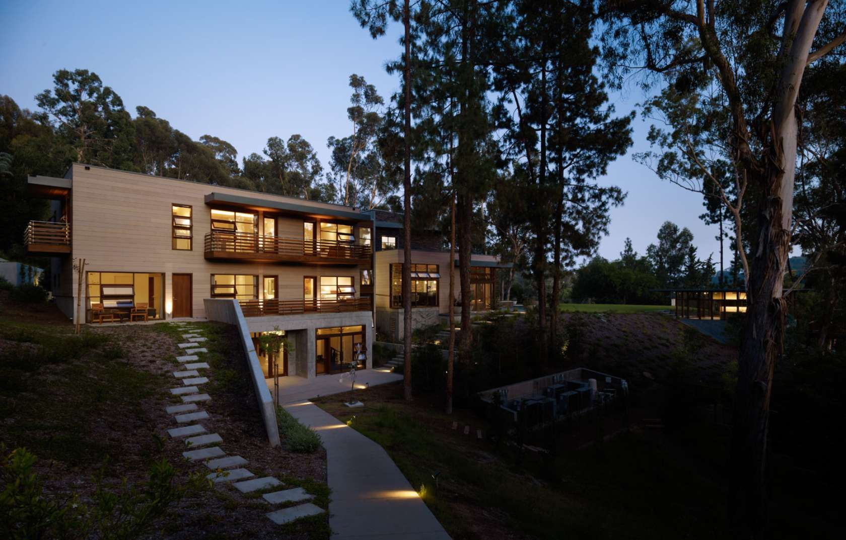 Architecture Mandeville Canyon Residence by Rockefeller