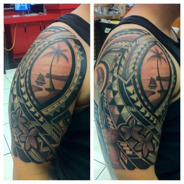 Chamorro Pride | Art | Plumeria tattoo, Tattoos, Samoan tattoo  Chamorro Pride ...