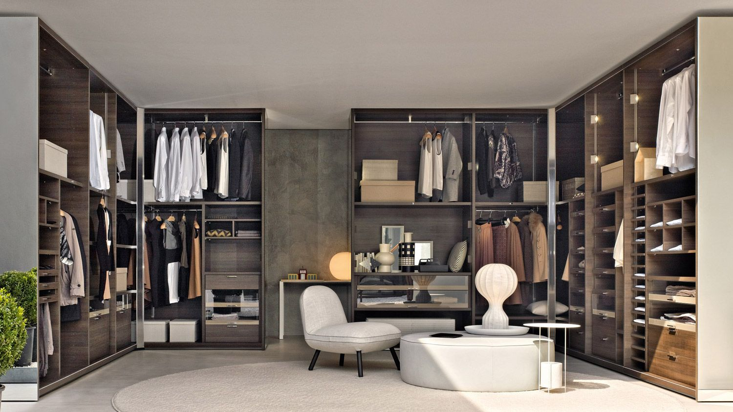 gliss quick walk in closets molteni c for the home. Black Bedroom Furniture Sets. Home Design Ideas