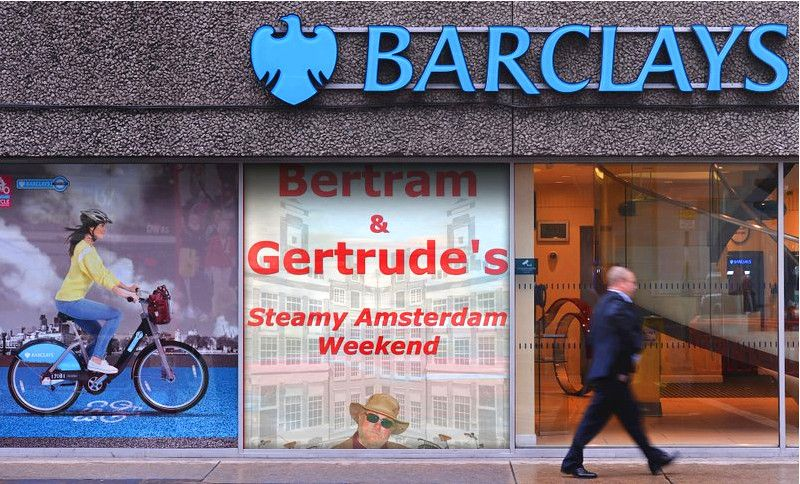 Dirty rotten thieving banksters.  Agent Bertram is on their trail!