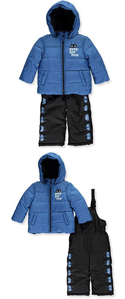 10f20159e Carter s Baby Boys Heavyweight Bubble 2-Piece Snowsuit