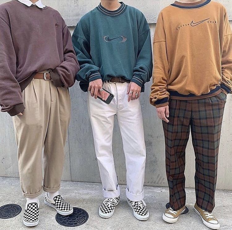 @ fitsonstreets on ig in 2020 | Retro outfits, Mens ...