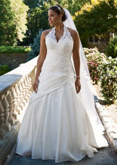 plussize #bride #curvybrides $50-$200 off Plus Size Wedding Gowns ...