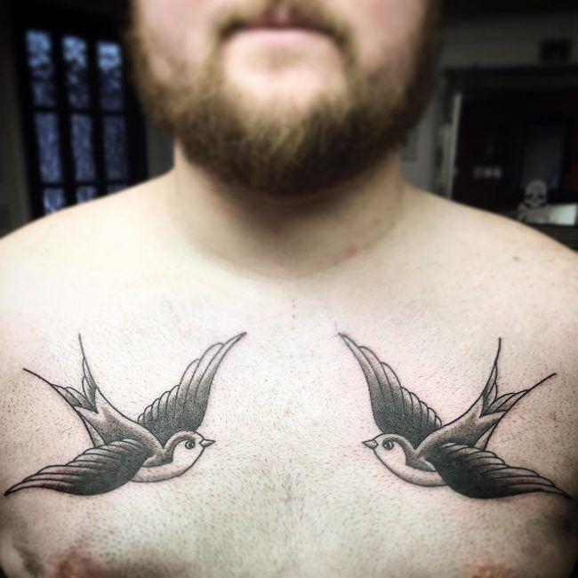 80 Lucky Swallow Bird Tattoo Bedeutung Und Designs Fly In The Sky 2018 Bedeutung Designs Lucky S Swallow Bird Tattoos Birds Tattoo Bird Tattoo Meaning
