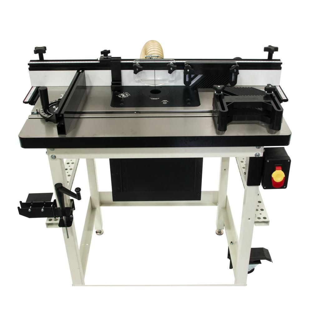 Jet Router Lift With Cast Table Kit 737000ck Router Lift Best Router Table Router Table