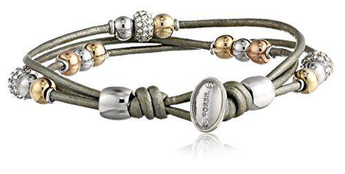 Fossil Rondel Wrist Wrap Bracelet 28 50 Toper