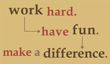 Funny Quotes About Work Awesome Work Hard Have Fun Make A Difference ~ #quotes #taolife