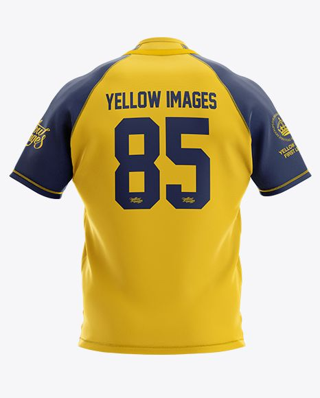 Download Men S Rugby Jersey Mockup Back View In Apparel Mockups On Yellow Images Object Mockups Clothing Mockup Design Mockup Free Mockup Free Psd