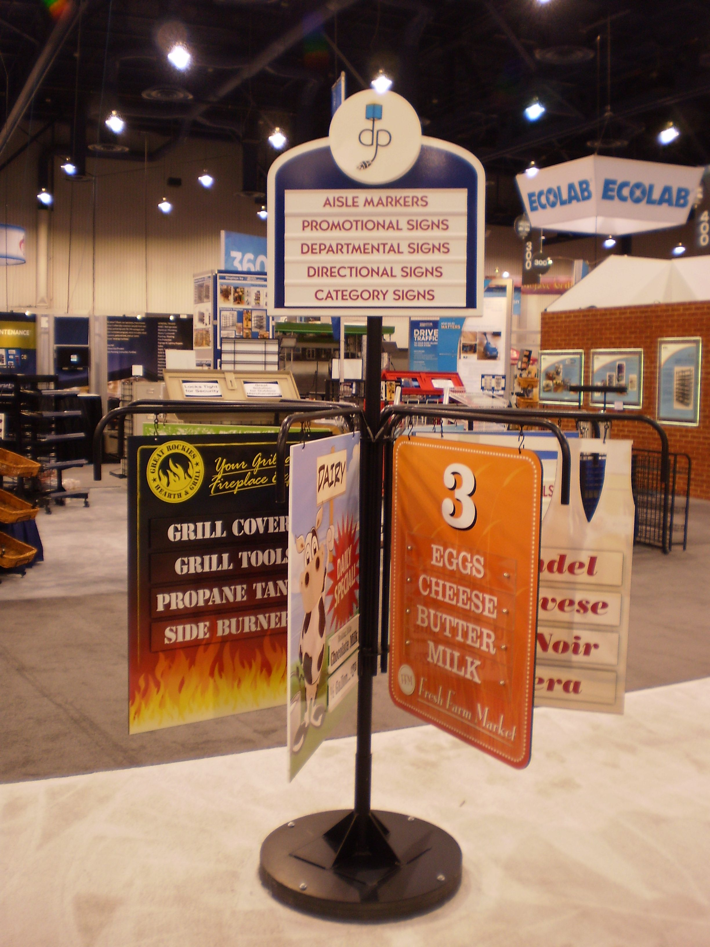 Aisle Marker Signs