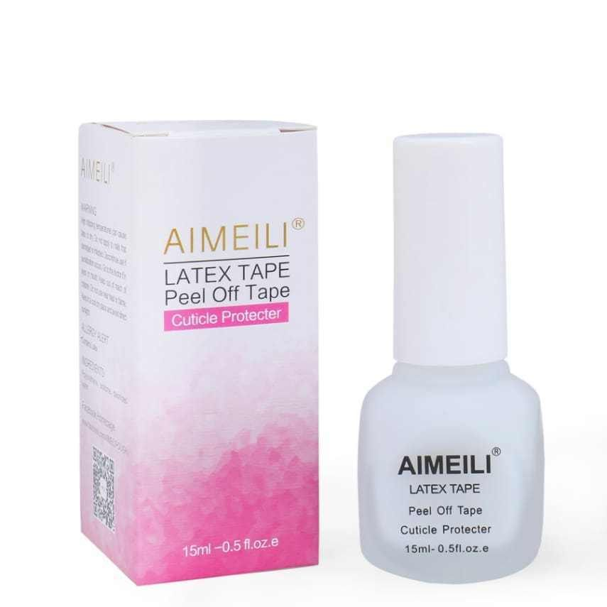 AIMEILI Liquid Latex Peel Off Tape Cuticle Guard Polish Barrier Skin ...